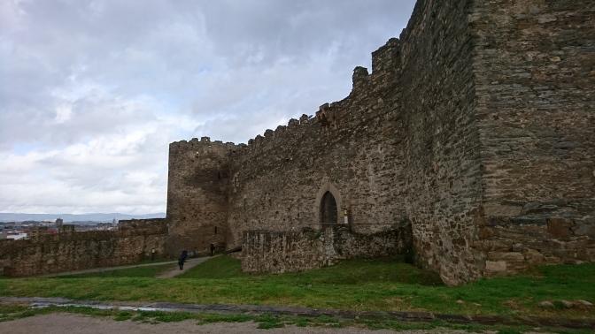 Restos del castillo antiguo, siglo XII